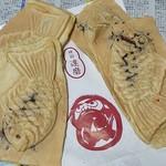 たいやき神田達磨 - 粒あんのたい焼き4個