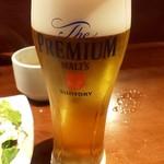 しらす専門店 SEALAS - ランチビール 300円