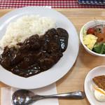シカ肉レストラン あぷかの森 - すね肉ゴロゴロ カレー 1080円