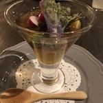 アロッサ - 野菜のパフェ 1600円