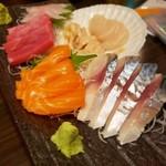 積丹浜料理 第八 太洋丸 - 刺身5点盛り