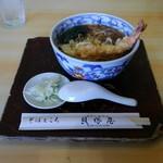 そばところ貝塚屋 - 料理写真:天ぷら蕎麦