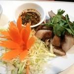 Baan Tum - 豚のど肉の炒め物