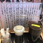 寿司居酒屋 日本海 - カスターと単品?
