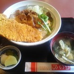 みのり食堂本店 - 料理写真:秩父ブタ祭り丼 1,150円
