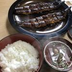 うな武 - 長焼き定食(鰻は2人前)