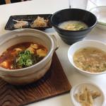 桃花 - 料理写真:麻婆豆腐セット950円