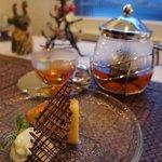 ノーザンカフェ - オレンジケーキと紅茶