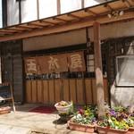 玉木屋 - 店舗外観、これは20年前とひとつも変わらない