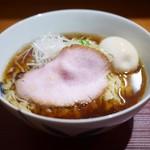 麺 みつヰ - 料理写真:醤油 味玉 中太手もみ麺