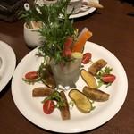 ベジキューブカフェ - サラダ