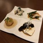 ベジキューブカフェ - 前菜