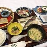 湯峡の響き 優彩 - 朝食