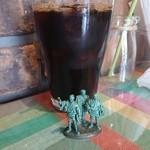 トラットリア チェントパスタ - セットのドリンク(アイスコーヒー)