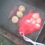 伊古奈 - 薩摩芋、じゃが芋、玉子の蒸しあがり