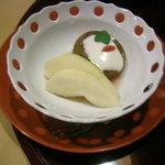 伊古奈 - 水菓子 洋梨と無花果のコンポート