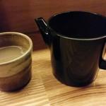 亀蔵 - 蕎麦湯