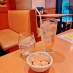 湘南本町食堂 - サムライロックとジンジャーエールとお通し