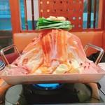 湘南本町食堂 - 辛味噌鉄板鍋