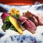 草喰 なかひがし - 強肴 シャラン鴨