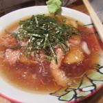 105238920 - 「豆腐とかに餡かけ」(¥350)