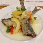 キッチン ラテール - 愛知県産イワシのエスカベッシュ