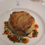 レストラン アラジン - 鴨肉のコンフィ、ポテトのパート包み焼き
