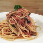 トラットリア デッラ ノンナ - 【ランチ】 ボスカイオーラ(トマトソースのスパゲティー) \900