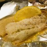 旬の海鮮 シーマーケット札幌 - 三品目 「魚のホイル蒸」