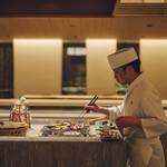 さんぽう西村屋 - お客様の目の前で料理人が調理致します。
