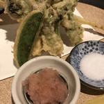 酒菜肉匠 ふるや - 春野菜の天ぷら  800円