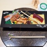個室割烹 寿司北大路 - 活ボタン海老