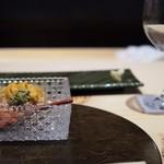 個室割烹 寿司北大路 - 毛ガニと雲丹