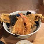 ぎんざ春日 - 天丼 1,000円