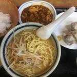 南風 - 焼売・ミニライス(麻婆麺)セット