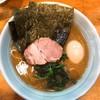 武蔵家 - 料理写真:ラーメン(半熟味玉追加)