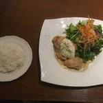 105256386 - 人気No.1 グランケーブオリジナル チキン南蛮ランチ(スープ、ライスorパン)