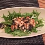 グリル末松 - 鰻の白焼きサラダ