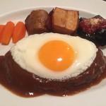 グリル末松 - ハンバーグステーキ