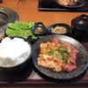焼肉特急 - 料理写真:ジューシーハラミ・テッチャンランチセット 1180円