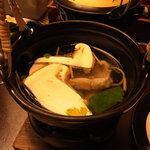 10526896 - 松茸と鱧の土瓶蒸し