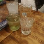 酒菜楽 - ハイボール、芋焼酎水割り、樽ハイ、ジンジャーエール