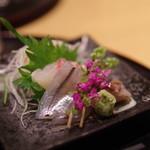天ぷらと日本酒 明日源 - お造り