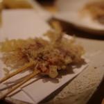 天ぷらと日本酒 明日源 - 蛍烏賊