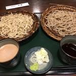 那須家 宗庵 - くるみ蕎麦二種盛り