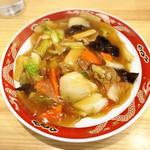 中国料理 沙流川 - 五目焼きそば