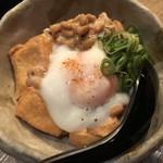 難波なかや - 厚揚納豆(400円)