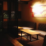 Bar 奥 - 店内(ソファー席)