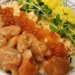 北海道料理 ユック - 鮭親子丼 輝いてます✨
