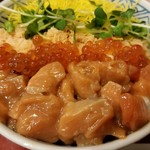 北海道料理 ユック - 鮭親子丼